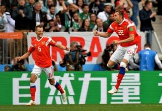 Rusia a învins Arabia Saudită, scor 5-0, în meciul de debut al Cupei Mondiale de fotbal