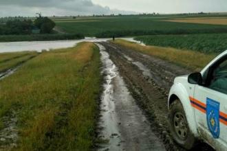 Ploile torențiale au făcut prăpăd în Tocuz și Ucrainca
