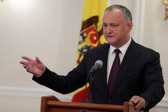 Dodon: Lupta dintre partidele pro-europene oferă mai multe șanse pentru victoria forțelor stataliste