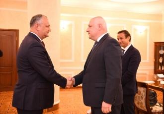 Situația în politica internă, discutată de Igor Dodon și delegația Adunării Parlamentare a OSCE