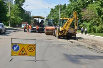 Trafic suspendat pe strada Academiei din capitală