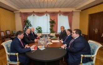 Igor Dodon, la discuții cu vicepremierul Federației Ruse