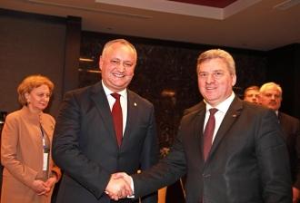 Președintele Macedoniei, în vizită la Chișinău, la invitația lui Igor Dodon