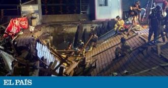 Platforma de la un festival din Spania s-a prăbuşit: 300 de răniţi, dintre care cinci în stare gravă
