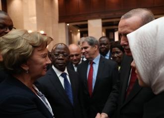 Zinaida Greceanîii a avut o întrevedere cu Recep Tayyip Erdoğan