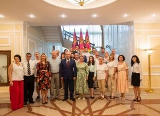 Reprezentanții diasporei moldovenești, la discuții cu Președintele țării