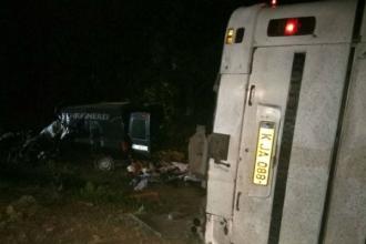 Autocar de pe ruta Chişinău-Zatoca implicat în accident: 3 morți şi 13 răniți