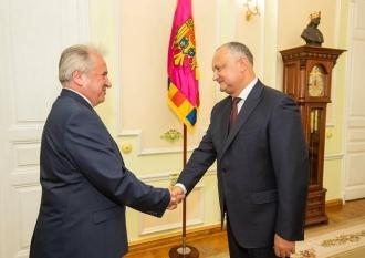 Prima întrevedere dintre Igor Dodon și noul Ambasador al Republicii Turcia în țara noastră