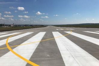 Noua pistă a Aeroportului Internațional Chișinău a fost inaugurată