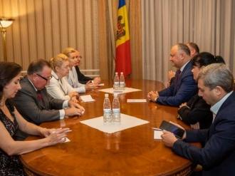 Șeful statului a avut o întrevedere cu o delegaţie din Federaţia Rusă, condusă de Elena Mizulina