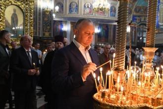Igor Dodon: Vom păstra cu sfințenie credința ortodoxă și valorile tradiționale ale familiei