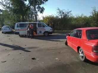 Grav accident la intrarea în Chișinău; Ambulanța se află la fața locului