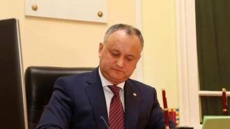 Igor Dodon a semnat decretele de demitere a miniștrilor Volconovici și Cebotari