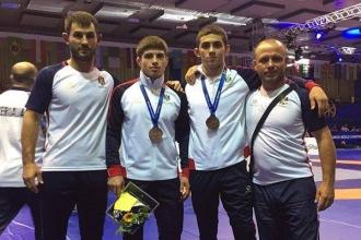 Luptătorii moldoveni au cucerit patru medalii la Campionatul Mondial de tineret