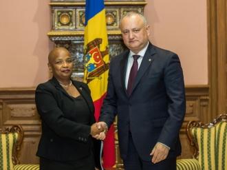 Igor Dodon a avut o întrevedere cu Ambasadorul Republicii Cuba în Uniunea Europeană