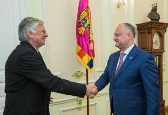 Ambasadorul Ungariei în RM, la discuții cu Președintele