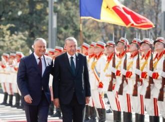 Igor Dodon l-a felicitat pe Recep Tayyip Erdoğan cu Ziua Națională a Turciei