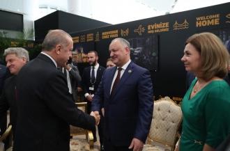 Igor Dodon, prezent la inaugurarea celui de-al treilea aeroport din Istambul