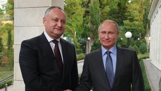 O nouă întrevedere dintre Igor Dodon și Vladimir Putin