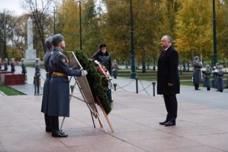 Igor Dodon și-a început vizita oficială la Moscova