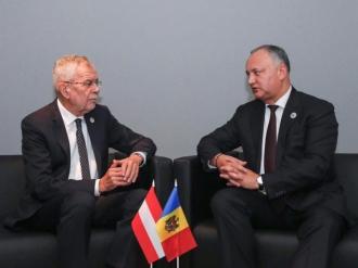 Dodon: Moldova tinde să dezvolte relaţii echilibrate cu Occidentul şi cu Estul în baza principiului de neutralitate