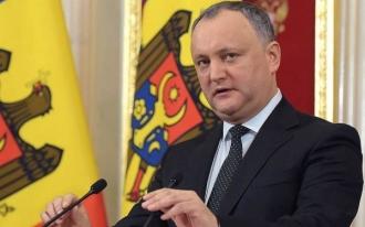 Dodon: Moldova nu are interese geopolitice