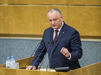 Igor Dodon a propus semnarea Declarației Comune privind parteneriatul strategic cu Rusia