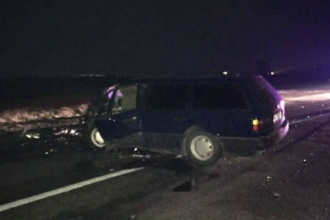 Un bărbat a decedat, iar alte patru persoane au fost rănite într-un accident la Țiganca