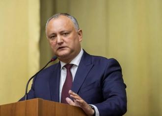 Igor Dodon, în topul încrederii moldovenilor
