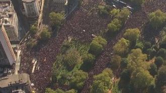 Peste 30.000 de persoane au protestat în Israel împotriva violenţei domestice