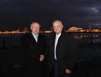 Igor Dodon s-a întâlnit cu guvernatorul orașului Sankt-Petersburg, Alexandr Beglov