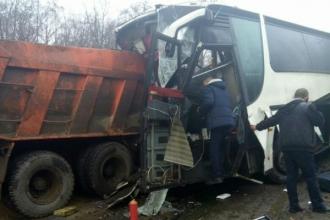 Autobuz cu moldoveni, accidentat grav în Federația Rusă