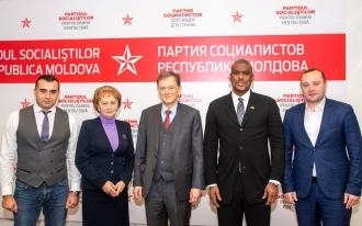 Zinaida Greceanîi a avut o întrevedere cu asistentul adjunct al secretarului de stat al SUA