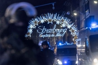 Alertă de securitate ridicată la Strasbourg: Autorul atacului, căutat în continuare. Sute de poliţişti participă la operaţiune
