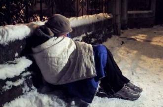 Zile grele pentru oamenii fără adăpost