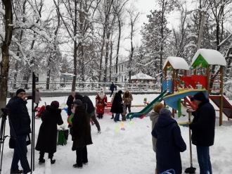 Încă un teren de joacă în sectorul Râșcani