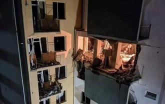 Explozie într-un bloc din Tbilisi