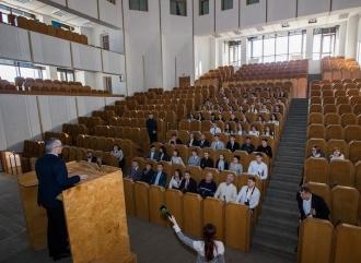 Elevi din Bălți, în excursie la Președinție