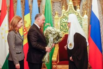 Felicitare pentru patriarh