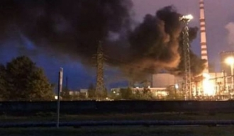 Incendiu la Centrala atomică din Rivne