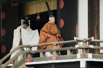 Abdicare istorică  în Japonia