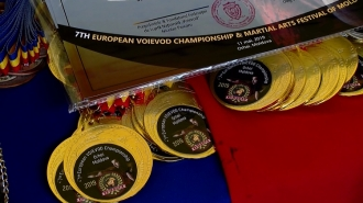 "Aur pentru luptătorii ""Voievod"""