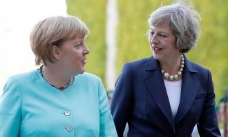 Merkel și May se pregătesc să plece