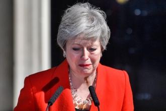 Theresa May demisionează