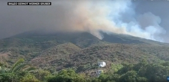 Vulcanul Stromboli a erupt
