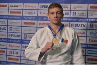 Judocanul Denis Vieru a cucerit medalia de aur la Universiada Mondială