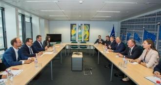Igor Dodon a avut o întrevedere cu Vicepreşedintele Comisiei Europene pentru Uniunea Energetică