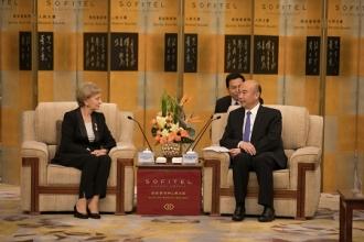 Zinaida Greceanîi s-a întâlnit cu guvernatorul provinciei Shaanxi din Republica Populară Chineză