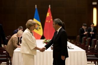 Președintele Parlamentului a avut o întrevedere cu Vicepremierul Republicii Populare Chineze