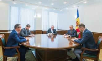 Igor Dodon a avut o întrevedere cu șeful Misiunii OSCE în Moldova